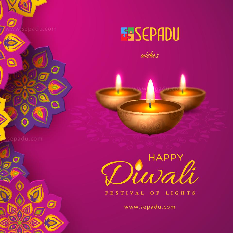 Happy Deepavali from Sepadu Group